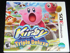 Kirby: Triple Deluxe (Nintendo 3DS, 2014) BRAND NEW SEALED WORLD VERSION