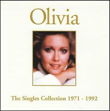 OLIVIA NEWTON JOHN - THE SINGLES COLLECTION CD ~ 70's GREATEST HITS / BEST *NEW*