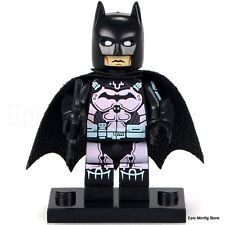 Custom Batman Abito Rosa MOVIE 2017 minifigura si adatta con LEGO pg092 UK Venditore