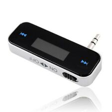 UNIVERSAL 3.5MM INCAR FM TRANSMITTER FOR IPHONE 4G/S 5G/S SAMSUNG S3 S4 IPOD MP3