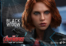 THE AVENGERS II~BLACK WIDOW~SCARLETT JOHANSSON~SIXTH SCALE FIGURE~HOT TOYS~MIB