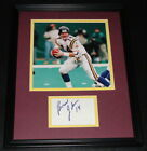 Brad Johnson Signed Framed 11x14 Photo Display Vikings Florida State Bucs