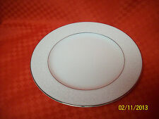 (4) EMPRESS CROWN VICTORIA DESSERT BREAD PLATES FINE CHINA PLATINUM TRIM JAPAN#2