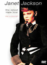 Janet Jackson - The Velvet Rope Tour (Live in Concert) MINT Condition DVD