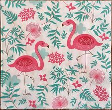 2 single paper napkins for Decoupage Scrapbooking collection Bird Birds Flamingo