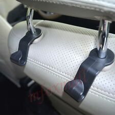 2PCS Car Vehicle Inner Parts Seat Hook Hanging Holder Pothook Hanger For Bag