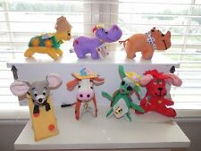 Lot Of 7 Vintage DAKIN DREAM PETS Stuffed Animals NEW WITH TAGS No Doubles MINT