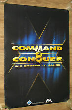 """Command & Conquer / The Godfather The Game """"Der Pate""""  promo Poster 84x59cm"""