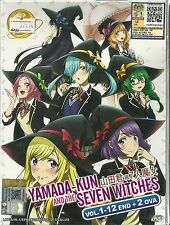 YAMANDA-KUN AND THE SEVEN WITCHES - TV SERIES DVD (1-12 EPS + OVA)| BUY 1 FREE 1
