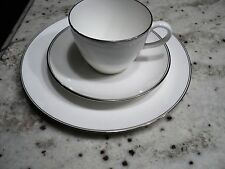 WEDGWOOD DORIC  cup & sauce & plate (trio)mint