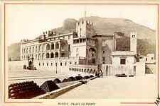 Degand., Monaco, Palais du Prince Vintage albumen print.  Tirage albuminé  8