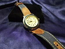 Woman's Mont Ricci Watch  with Genuine Leather Band **Nice** B21-585