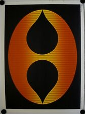 Affiche MILCOVITCH 1976 MEDITATION 242 Estampe Originale