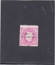 MOZAMBIQUE COMPANY D. LUIS I 20 REIS (1892)    MNG