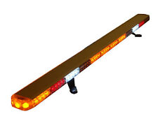 "60"" LED AMBER  LIGHT BAR  TOW TRUCK  PLOW POLICE FIRE EMS PILOT CAR TURN SIGNAL"