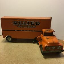 Tonka Allied Van Lines Tractor Trailer (moving) Semi Truck *1950's RARE* Vintage