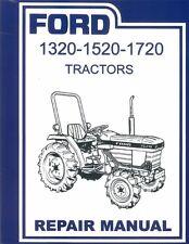 1984 1986 1988 1990 1992 1995 Ford Tractor 1320-1520-1720 Shop Repair Manual