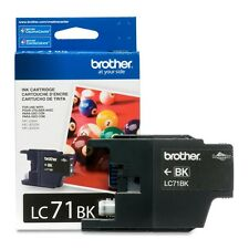 Genuine Brother LC71 Black ink 71 LC71BK for DCP J525W J725DW J925DW J280W J425W