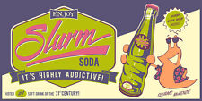 Futurama Slurm Soda Poster Silk Screen Print Steve Thomas NUM #/200 SIGNED + COA