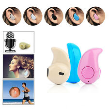 Mini senza fili Bluetooth 4.0 Stereo cuffie In-Ear Auricolari Singola