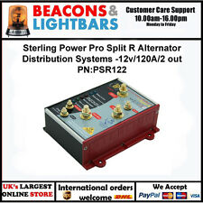 Sterling Power Pro Split R Alternator Distribution Sys -12v/120A/2 out PN:PSR122