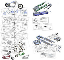 Mini Chopper COMBO Plan Set - - - No Bender Needed!! Our 3 popular plans in one!