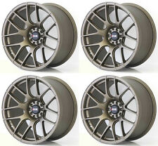 "XXR 530 18"" x 8.75 ET33 5x114.3 5x100 FLAT BRONZE WIDE RIMS ALLOYS WHEELS Z3240"