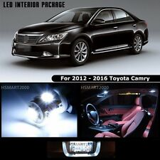 13PCS Cool White Interior LED Bulbs Package Kit For 2012 - 2016 Toyota Camry
