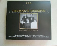 Herman's Hermits, Original Gold Audio 2 CD #music #British stereo #Bowie track