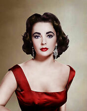 ELIZABETH TAYLOR 8X10 GLOSSY PHOTO PICTURE IMAGE #25