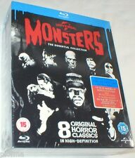 UNIVERSAL CLASSIC MONSTERS THE ESSENTIAL COLLECTION NEW BLU-RAY BOX SET 8 MOVIES