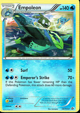 POKEMON LEGENDARY TREASURES EXPANSION RARE CARD 35/113 EMPOLEON grade nm