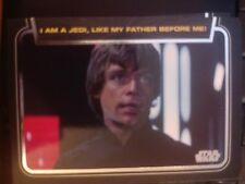 Star Wars 2012 Galactic Files 1 Classic Lines #CL-9 I Am a Jedi, Like My Father