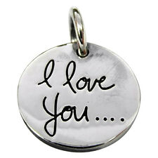 Sterling Silver (925)  I  Love  You   Pendant   !!      Brand New !!