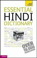 Essential Hindi Dictionary: A Teach Yourself Guide TY: Language Guides)