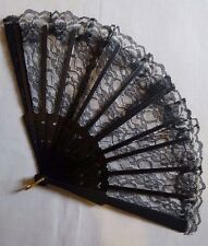 Spanish Lace Flamenco Dancing Folding Hand Held Fan Summer Plastic Costume Geish