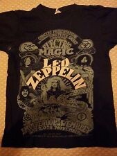 LED ZEPPELIN Electric Magic shirt S RARE JIMMY PAGE ROBERT PLANT