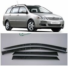 For Toyota Corolla Wagon 2001-2007 Window Visors Sun Rain Guard Vent Deflectors