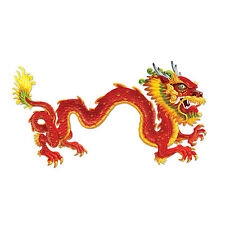6ft LONG JOINTED DRAGON CUTOUT CHINESE NEW YEAR DECORATION MEDIEVAL THEMED PARTY