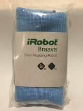 AUTHENTIC Braava Floor Mopping Robot 2 Microfiber Cleaning Cloths, Mixed NEW