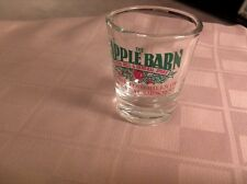 THE APPLE BARN CIDER MILL AND GENERAL STORE    SHOT GLASS --  #4007