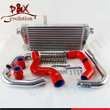 For Audi A4 1.8T Turbo B6 Quattro 2002-2006 Front Mount Intercooler+pipe Kit Red
