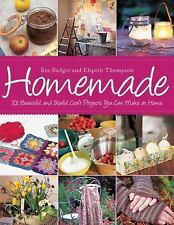 Homemade: 101 Beautiful and Useful Craft Projects You Can Make at Home-ExLibrary