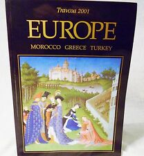 Vtg Travcoa 2001 Travel Book Europe Morocco Greece Turkey Softcover