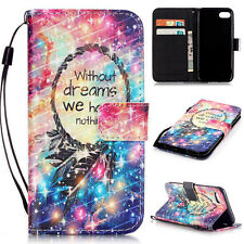 For iPhone 6 6S 7 7 Plus 5 5S 5C SE 4 4S Popular PU Leather Wallet Case Cover