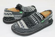 SANUK DONNY CHILL SIDEWALK SURFER SHOES BLACK NORDIC MENS SIZE 13 US