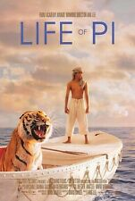 LIFE OF PI ANG LEE Suraj Sharma Irrfan Khan Original Double Sided Movie Poster A