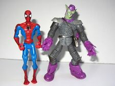Marvel Spider-Man Animated Toy Figure Set   SPIDER-MAN vs THE GREEN GOBLIN