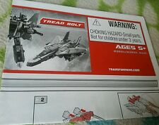 Transformers UNIVERSE TREAD BOLT INSTRUCTION BOOKLET ONLY GREAT CONDITION