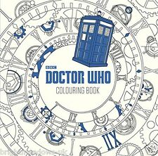 Doctor Who BBC Adult Colouring Book Sci Fi TARDIS Space Monsters Dr Gift Aliens